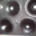 Tromba Tweeter Audio Montata