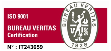 Logo Bureau Veritas Con Numero Certificazione